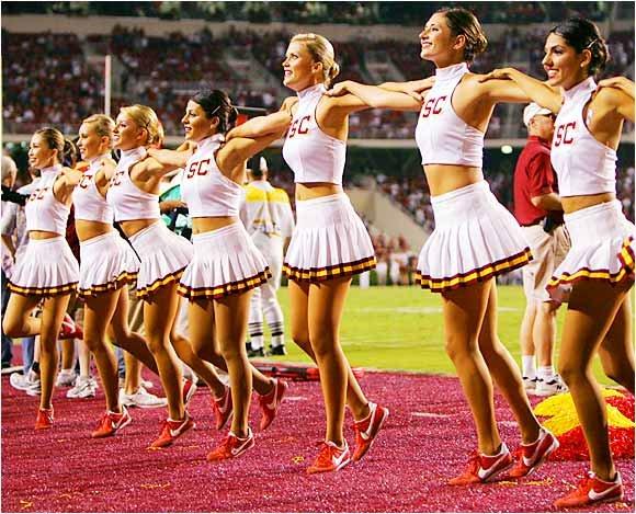I love usc cheerleaders merged page 7 buckeyeplanet img sciox Image collections